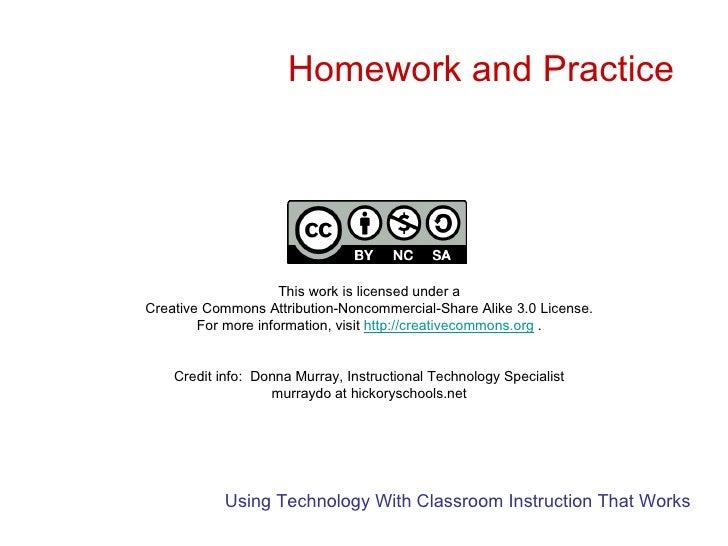 Marzano homework