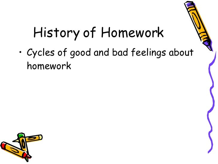 Homework good or bad