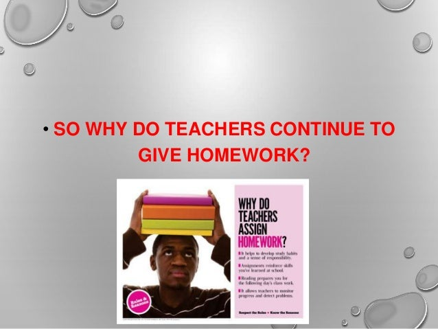 Do teachers give to much homework