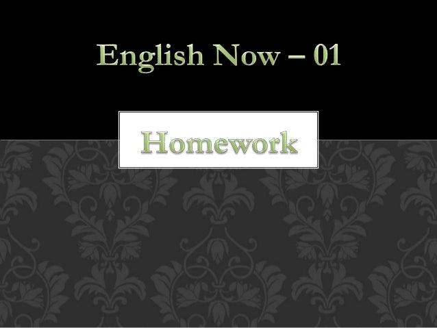 Homework EN01