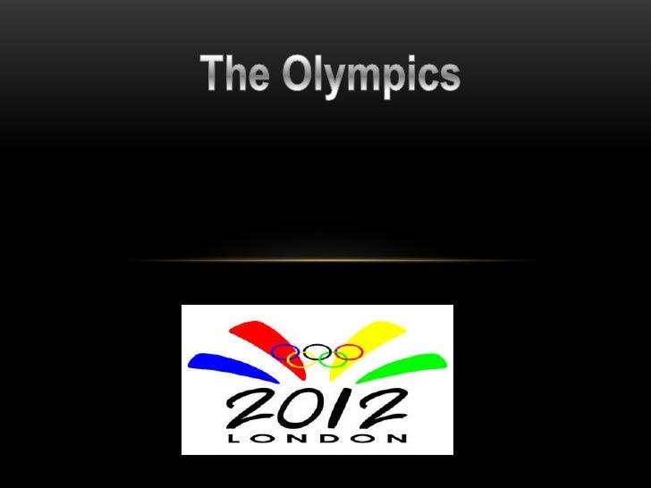 Oscar's Olympic presentation