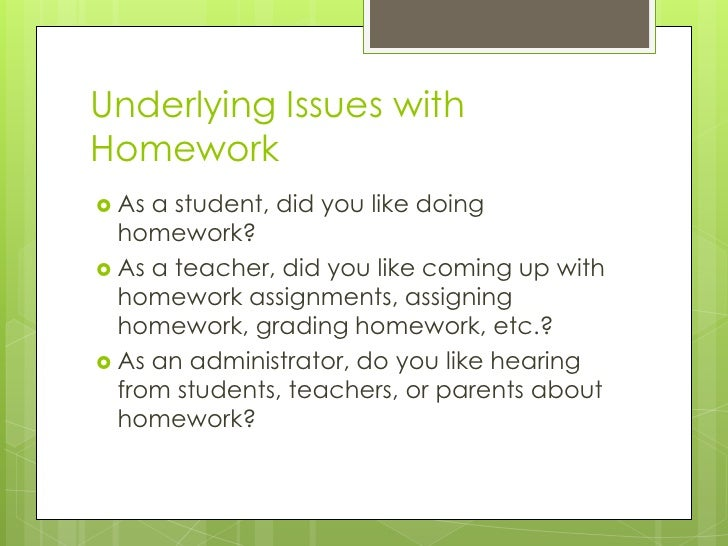 How Invented Homework