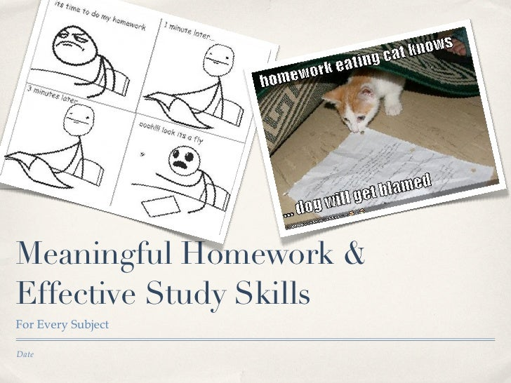 Homework study strategies for every classroom