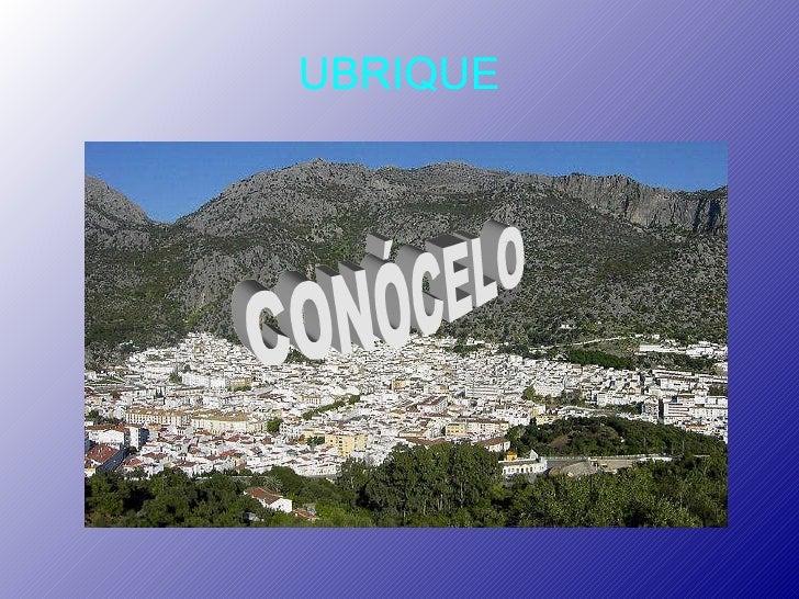 UBRIQUE CONÓCELO