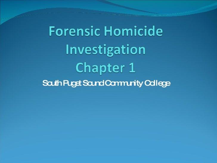 Homicide Chapter 1 Ol