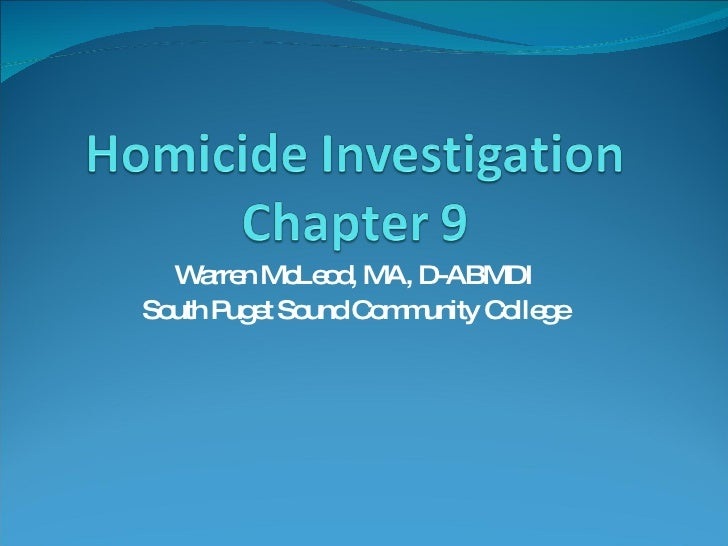 Warren McLeod, MA, D-ABMDI South Puget Sound Community College
