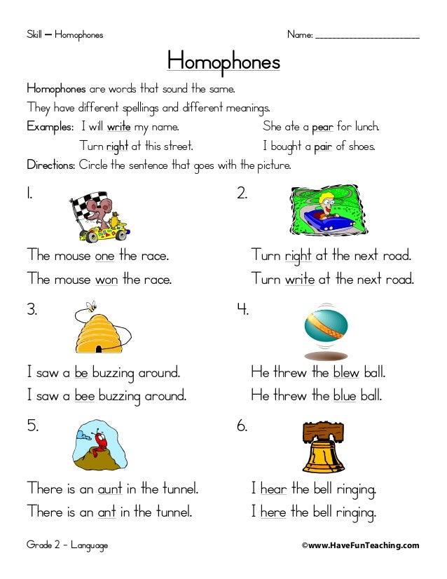 Worksheets Homophones Homophones Worksheets 3 Classroom Goodies – Homophone Worksheet
