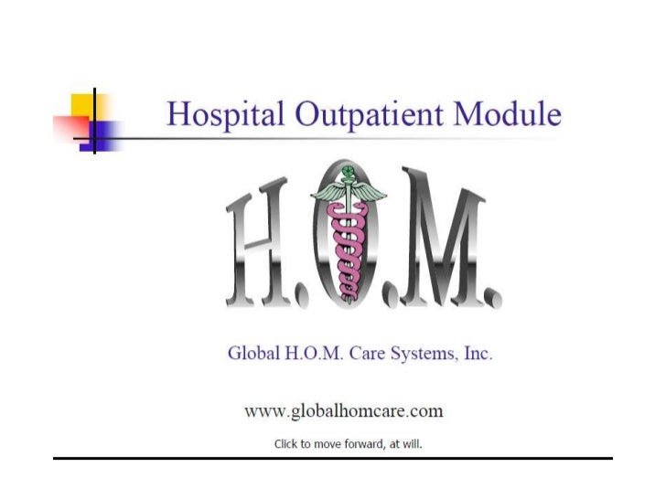 H.O.M. Presentation For Linked In