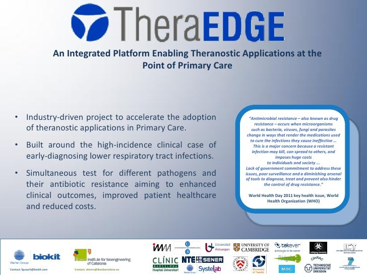 An Integrated Platform Enabling Theranostic Applications at the                                                   Point of...