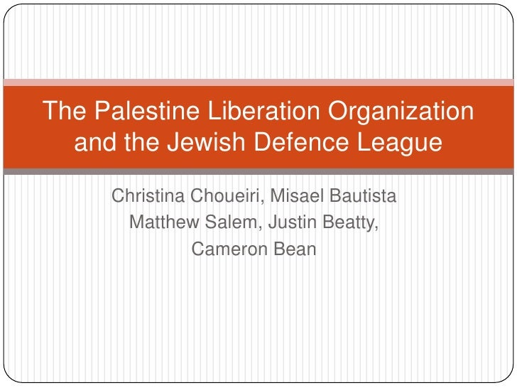 Christina Choueiri, Misael Bautista<br />Matthew Salem, Justin Beatty,<br />Cameron Bean <br />The Palestine Liberation Or...