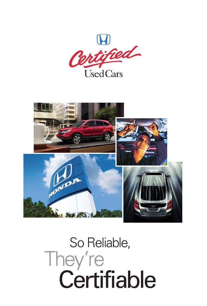 Certified Honda Miami - #1 Dealer Brickell Honda