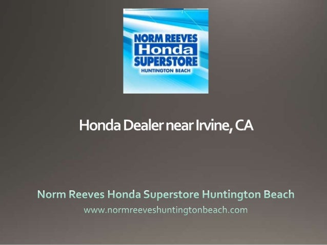 honda dealer near irvine ca