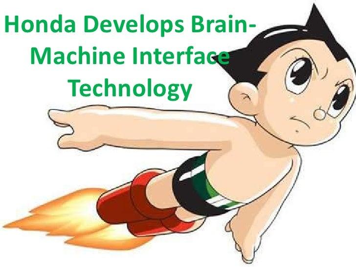 Honda develops brain machine interface technology
