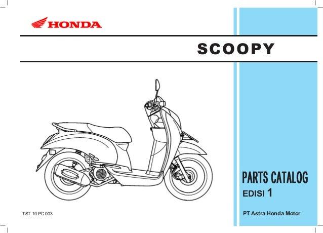 SCOOPY                   EDISI 1TST 10 PC 003      PT Astra Honda Motor