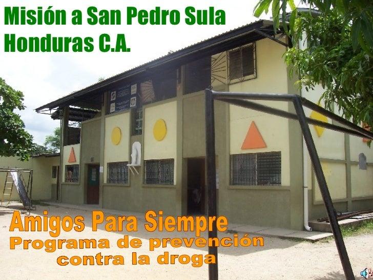 Honduras   programa prevención droga
