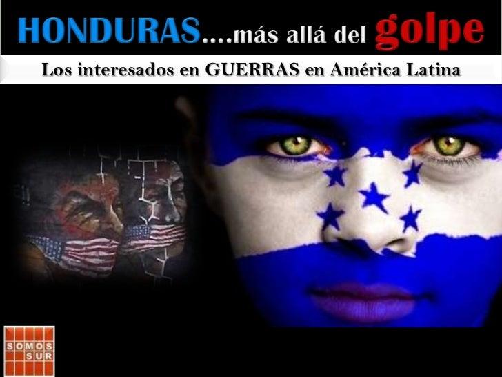 ….más allá delgolpeen Honduras<br />y las bases militares en Colombia/AL<br />Diez preguntas y muchas reflexiones<br />