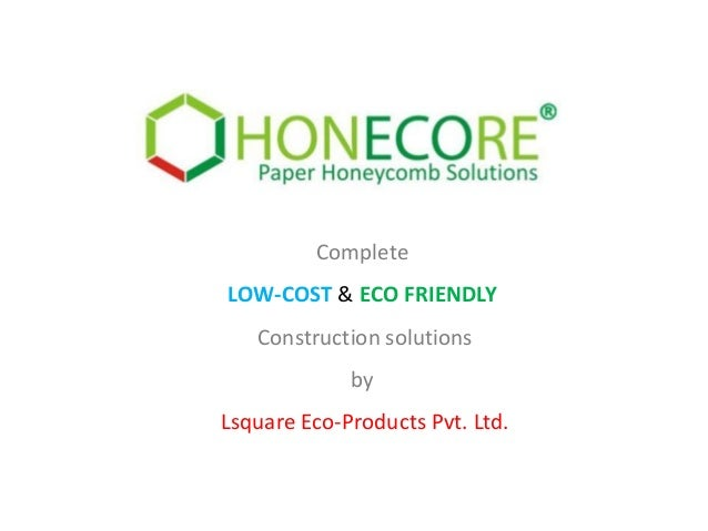 Low cost housing by honecore for Low cost housing solutions