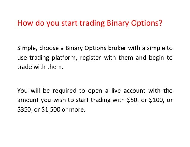 Best way to trade 60 second binary options