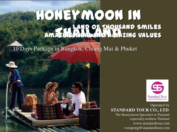Honeymoon Packages in Thailand