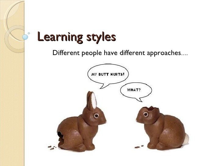 different learning styles in education pdf