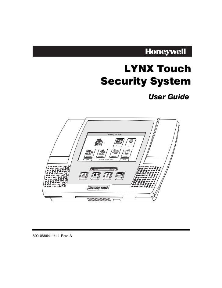 Honeywell l5000-user-guide