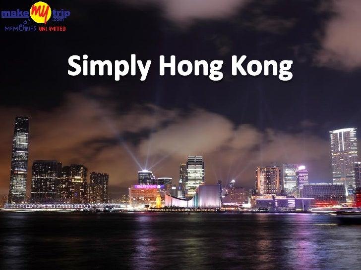 Amazing Hong Kong by MakeMyTrip