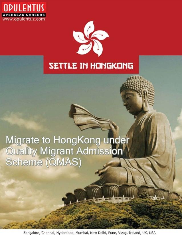 Migrate to HongKong under Quality Migrant Admission Scheme - Opulentuz