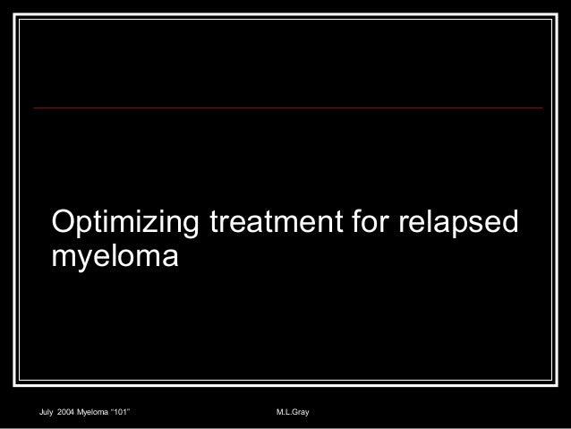 Relapsed Myeloma