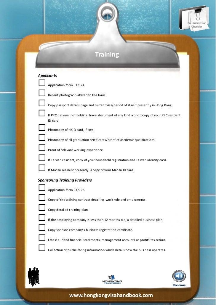 Pre‐Submission                                                                                                 Checklist...