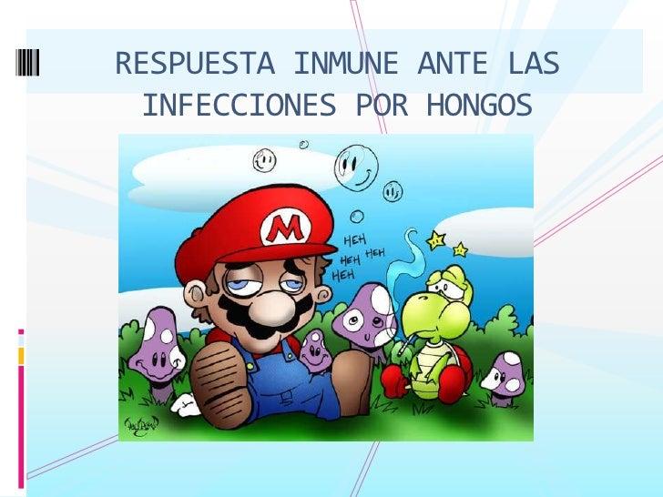RESPUESTA INMUNE ANTE LAS INFECCIONES POR HONGOS<br />