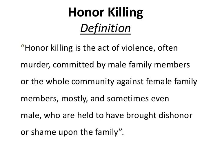 Honor Killing 3 Finished.Pptx [ Autosaved]