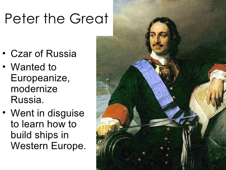 peter great absolutism essay