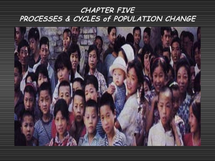 CHAPTER FIVE PROCESSES & CYCLES of POPULATION CHANGE