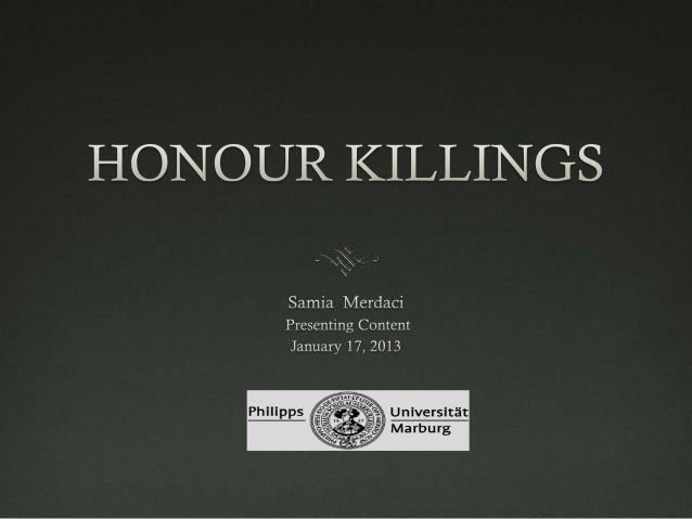 the issue with honor killings essay