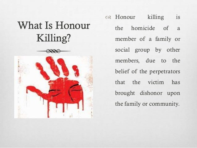 Honour Killing Essay