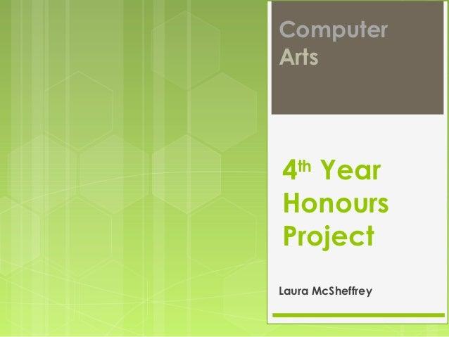Honours Project - Pitch Week LMCS