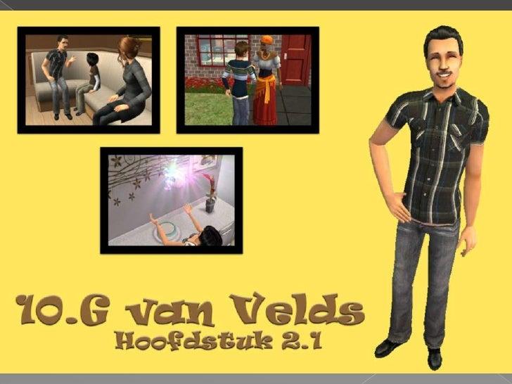 10.G van Velds - Hoofdstuk 2.1
