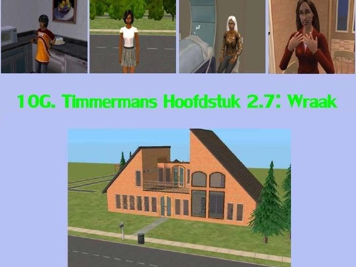 10G Timmermans: Hoofdstuk 2.7: Wraak