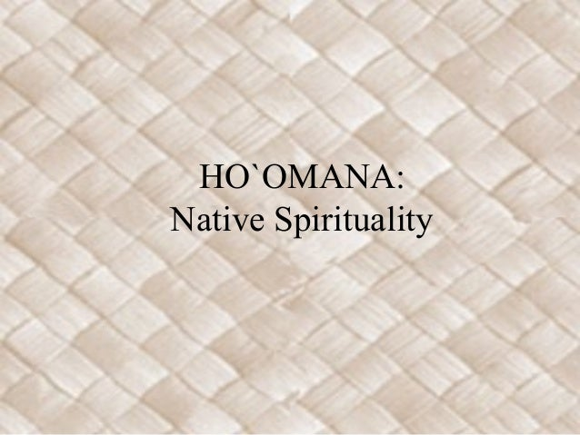 Hoomana pacific island