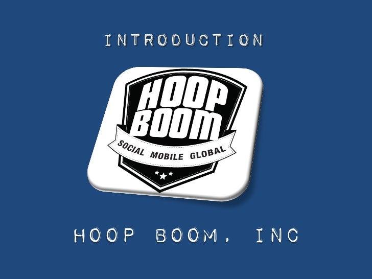 Joseph M Conover            Hoop Boom, Inc1/21/2012        Hoop Boom, Inc - Confidential   1