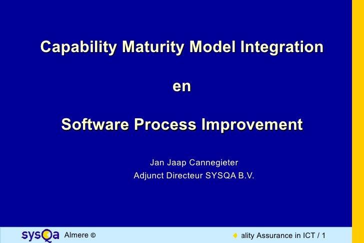 CMMI en Software Process Improvement