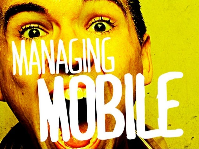 Managing Mobile - A Tourism Marketer's Guide To Mobile Marketing Strategy