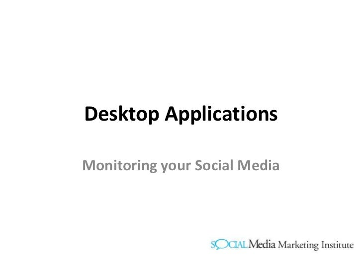 Using Hootsuite to manage Social Media