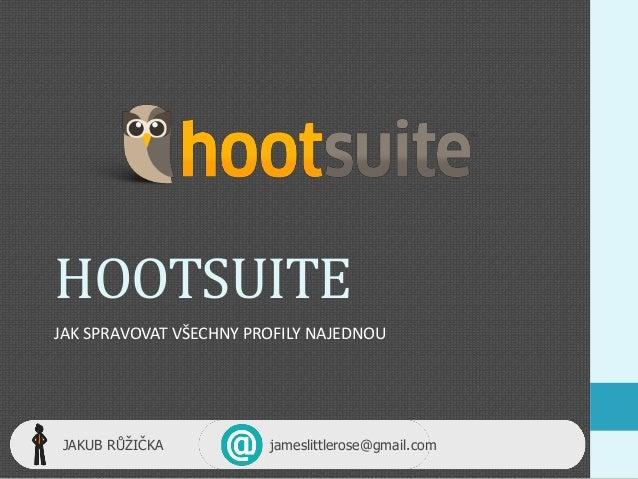 Hootsuite (Social Media Marketing)
