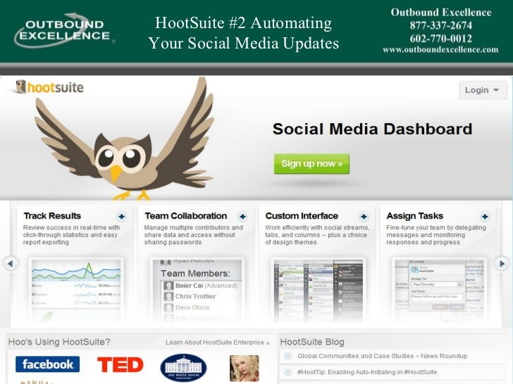 HootSuite #2 Automating  Your Social Media Updates