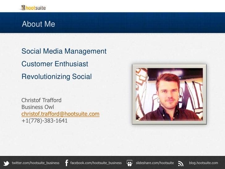 HootSuite Enterprise Christof