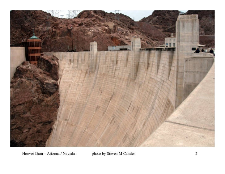 Hoover Dam – Arizona / Nevada   photo by Steven M Cantler   2