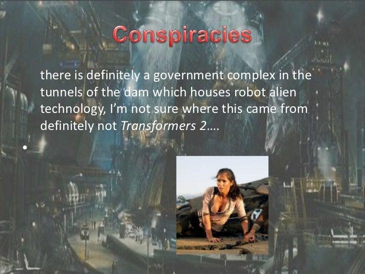 Conspiracies Hoover Dam