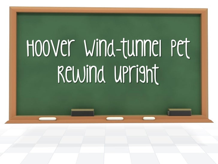 Hoover Wind-tunnel Pet Rewind Upright