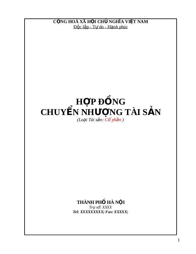 Hop dong-chuyen-nhuong-tai-san